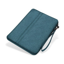 For Huawei Zipper Case Slim Universal Strap Waterproof Fabric Bag Tablet Case for Huawei Mediapad M5 T5 10.1 inch Bag Cover(China)