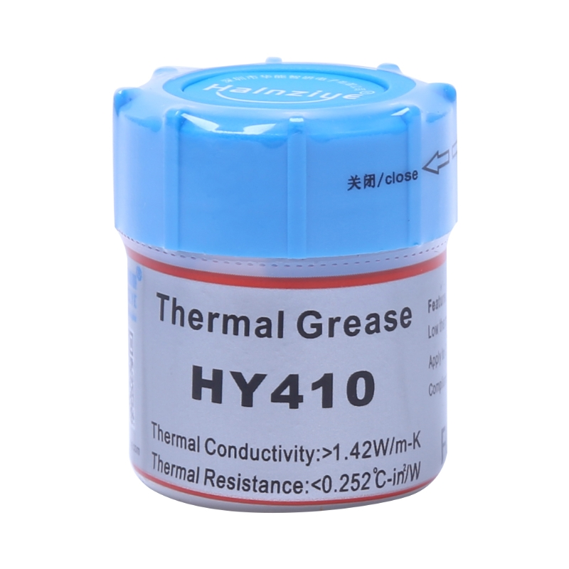 10g HY410-CN10 Thermal Grease CPU Chipset Cooling Compound Silicone Paste 1.42W Hot High Quality