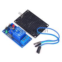1PCS DC 12V Relay Control Module Rain Sensor Water Raindrops Detection Module for Arduino robot kit