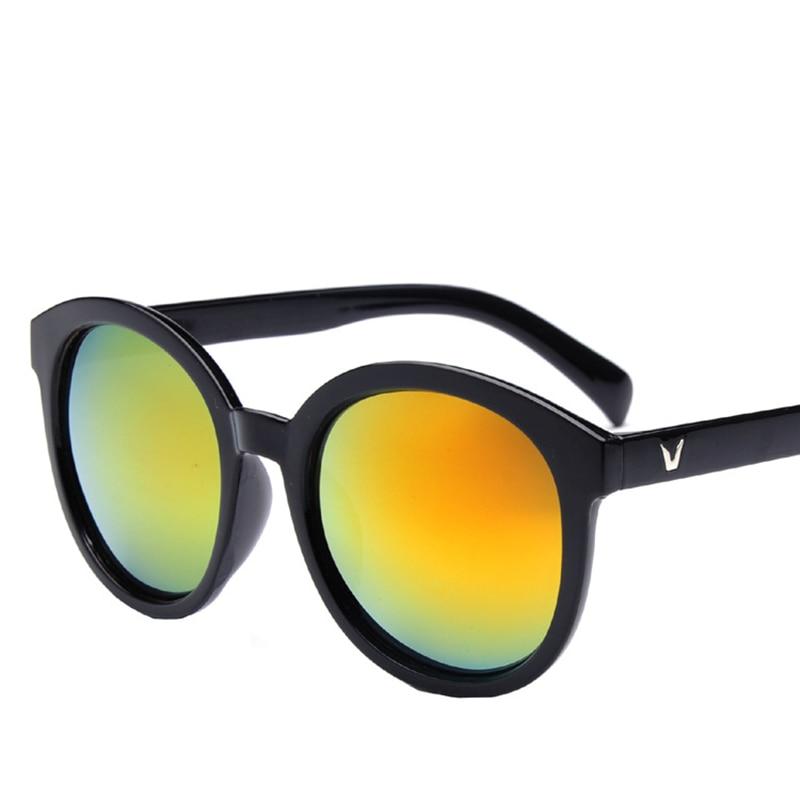 beb521fe56f0 New Fashion V Logo Sunglasses Women Brand Designer G15 Black Vintage Lens  Outdoor Round Sun Glasses Men Sunglasses Eyewear -in Sunglasses from Apparel  ...