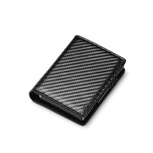 BISI GORO New Slim Credit Card Holder Wallet Aluminium Men Women Metal Wallet for Cards Business Card Package RFID Protector
