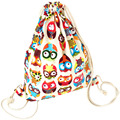 2017 New Fashion Animal Bags Drawstring Bag School Bags Lovely For Student