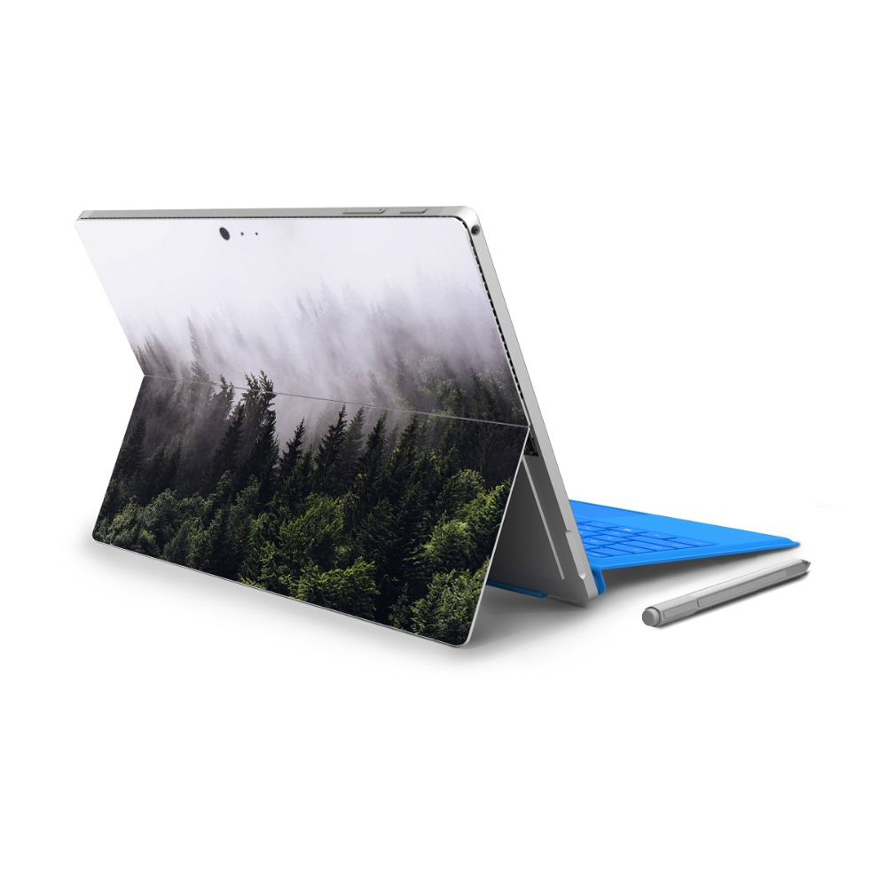 YCSTICKER - For Surface Pro 4 Vinyl Back Full Decal Tablet Painting Sticker Color Skin & ...
