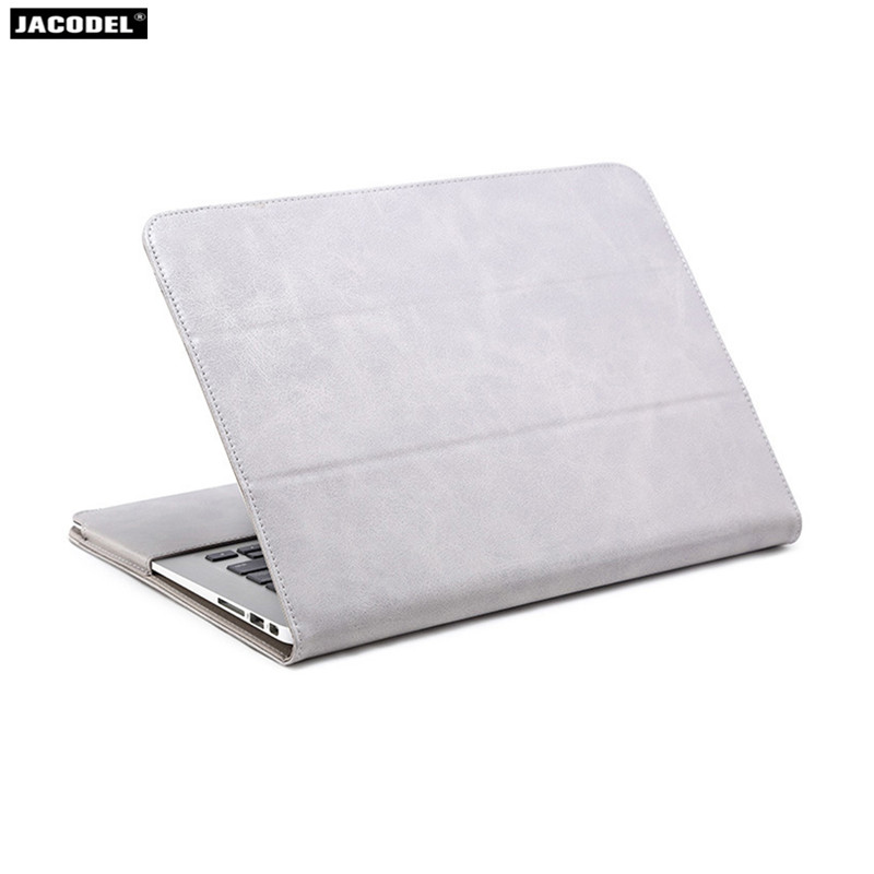 все цены на Jacodel PU Laptop Cases for Macbook Air Pro Retina 11 12 13 15 Case for Macbook Laptop Cover Case for Macbook Air 13 Pro 13 15 онлайн