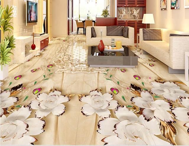 Marmo modello europeo gioielli fiori d piastrelle per pavimenti