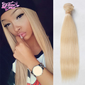 Eurasian Virgin Hair Straight 1PC Slot Color 613 Blonde Virgin Hair Weaves 12-30 Inch Blonde Hair Extensions