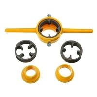 6X Npt Die Pvc Thread Maker Sizes 1/2inch 3/4inch 1inch Pump Pipes Hand Tool Tarraja Tubo|Wrench|   -