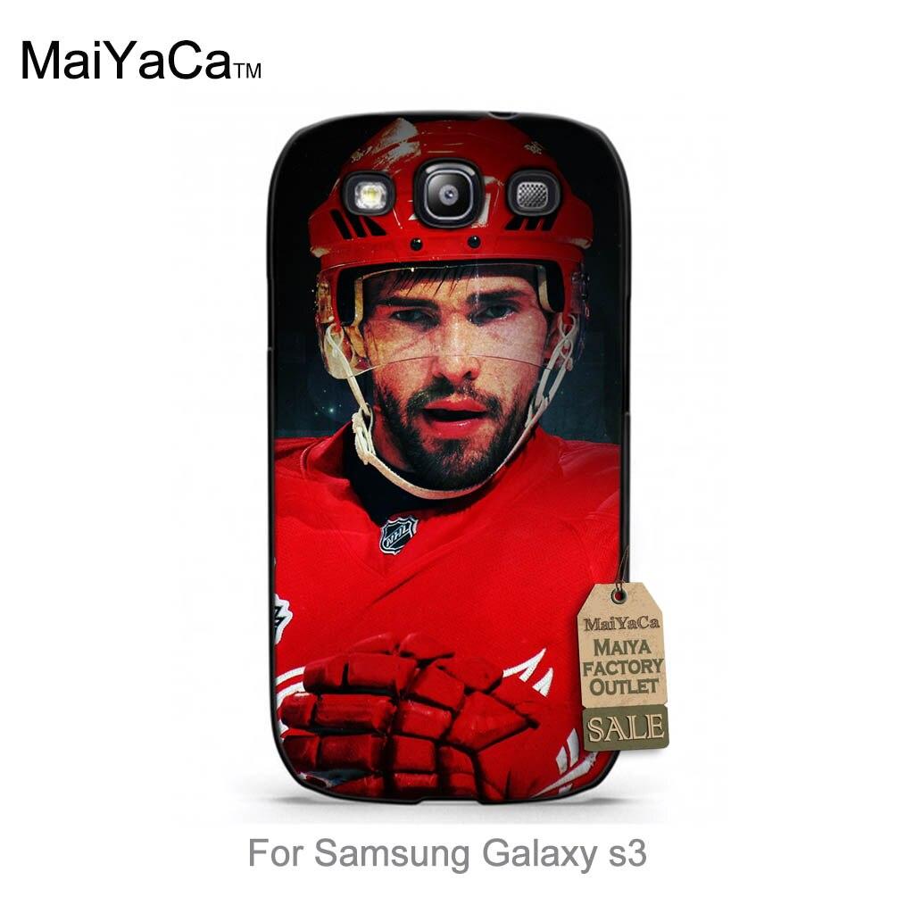 MAIYA 3C Digital Store Pavel Datsyuk signed star fashion Ice hockey sport Pattern PC phone Accessories Cove For case  s3 i9300