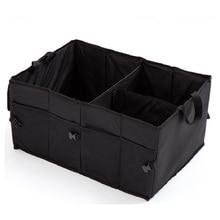 CHIZIYO Car Multi-Pocket Organizer Black Trunk Auto Supplies Back Folding Storage Box Multi-Use Tools Storage Bags