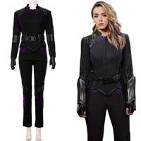 Daisy Johnson Costume Agents of S.H.I.E.L.D. Cosplay Quake Outfit Skye Uniform Suit Halloween Carnival Costume Women Custom