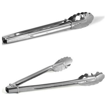 9 Inch Stainless Steel Food Tong Practical Kitchen Tools Set Heat Bread Tong Salad BBQ Cooking Food Serving Utensil Tongs F0130