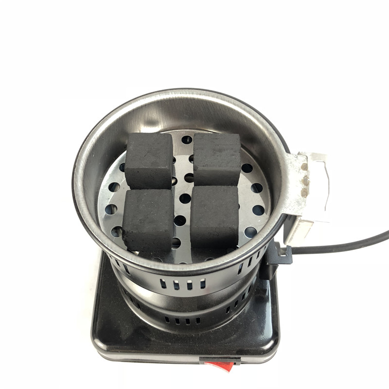 220V 650w shisha Hookah Burner Electric stove Hot Plate with tong cooking coffee heater chicha nargile smoking pipes charcoal in Shisha Pipes Accessories from Home Garden