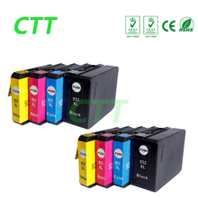 8pcs HP932 compatible ink cartridge for HP Officejet 6700/6100 ePrinter/6600 e-All-in-One/Premium e-All-in-One7510/7512 printer(China)