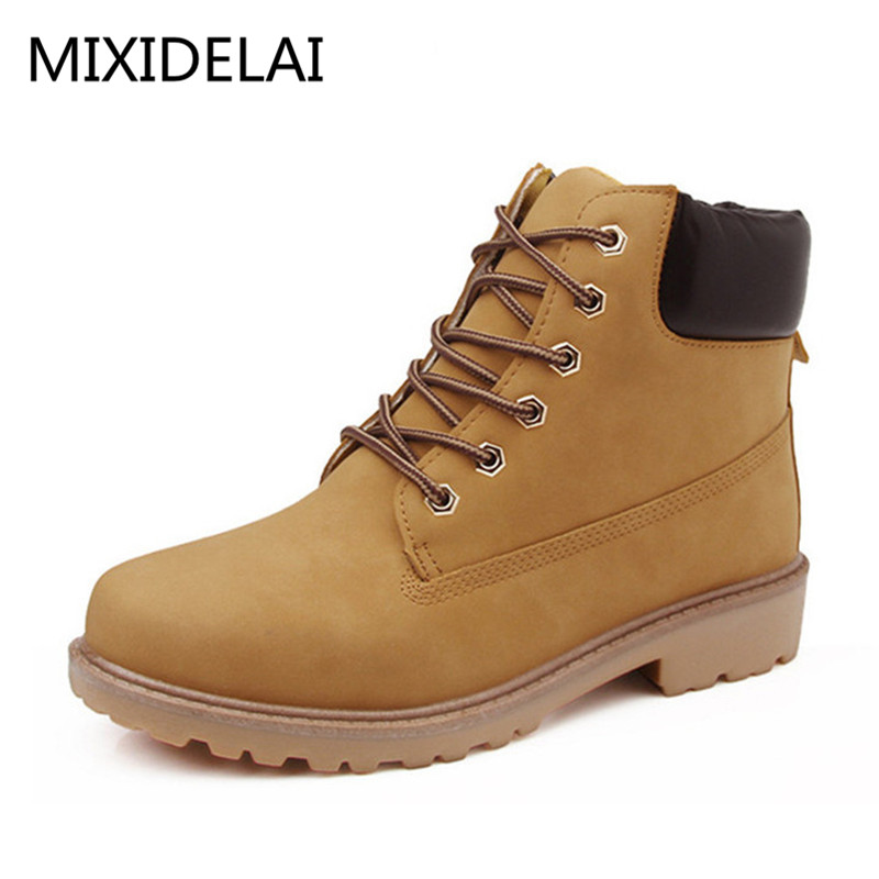 MIXIDELAI Faux Suede Leather Men Boots Spring Autumn And Winter Man Shoes Ankle Boot Men s