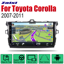 ZaiXi Auto Radio 2 Din Android Car Player For Toyota Corolla 2007~2011 GPS Navigation BT Wifi Map Multimedia system Stereo zaixi auto radio 2 din android car dvd player for toyota corolla 2013 2016 gps navigation bt wifi map multimedia system stereo