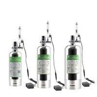 Aquarium DIY CO2 Generator System Kit with Pressure Air Flow Regulating Water Plant Aquarium Aquarium Reactor