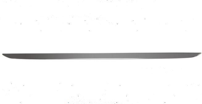 Couvercle de coffre de porte arrière en acier inoxydable porte arrière Chrome moulage couvre garnitures pour Toyota Prius ZVW30 2010 2011 2012 2013 2014 2015