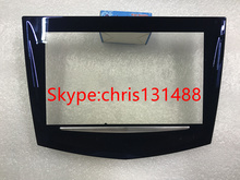 Royal blue appearance CUE touch screen High quality for Cadillac ATS CTS SRX XTS CUE car DVD Cadillac touch display digitizer