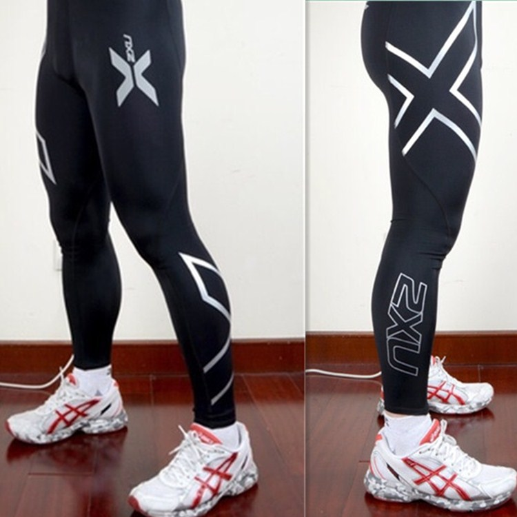 9b73a21a5e 2XU Men Compression Tight Long Pants Sport Trousers Jogging Trousers Mens  Joggers Emoji Skinny Fit Wicking Breathable Pants