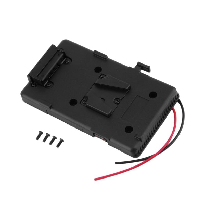 Battery Back Pack Plate Adapter For Sony V Shoe V Mount V Lock Battery External For