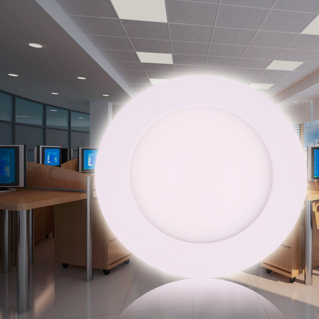 Dimmable 6w9w12w15w18w led recessed round panel flat wall lamp dimmable 6w9w12w15w18w led recessed round panel flat wall aloadofball Images