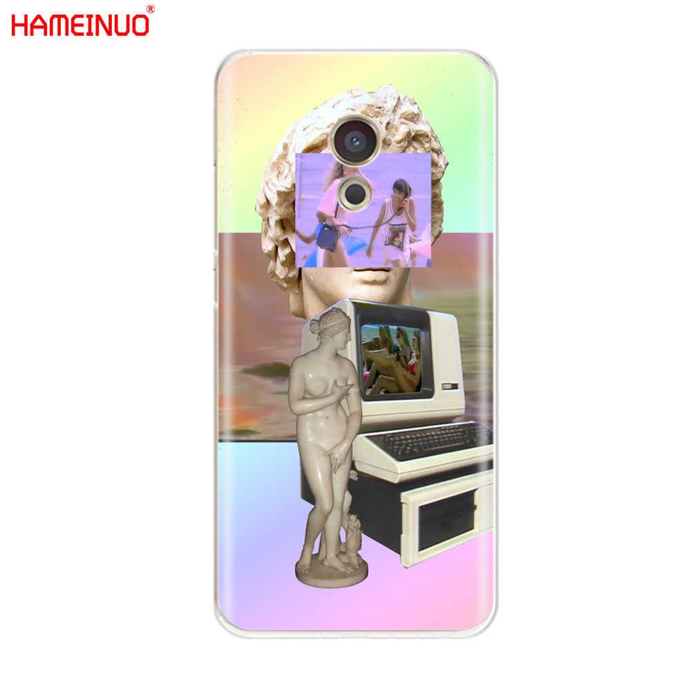 HAMEINUO sztuki Vaporwave pokrywa etui na telefon do Meizu M6 M5 M5S M2 M3 M3S MX4 MX5 MX6 PRO 6 5 u10 U20 note plus