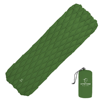 цены на Outdoor Camping  Mat Portable Inflatable Mattress Ultralight Sleeping Pad For Hiking Riding Travle Picnic Air Bed Beach Mat  в интернет-магазинах