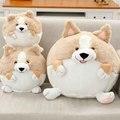 20-50 cm Al Por Mayor perro Corgi esférica almohada femenina regalo de cumpleaños creativo muñeca de juguete de felpa muñeca de cumpleaños de los niños presente