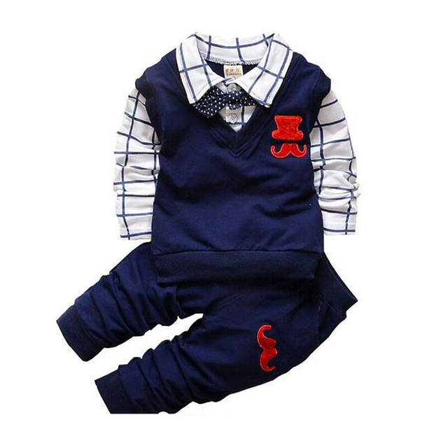children clothing girls boy trouser suit for the boy gentleman kids clothes suits baby set winter wedding party Christmas suit