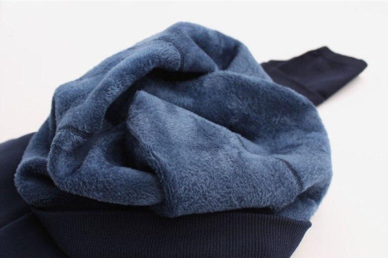Women's Warm High Waist Thick Velvet Legging 35