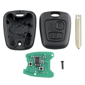 Image 5 - Nuovo 2021 chiave telecomando auto 2 pulsanti 433Mhz per Citroen Saxo Picasso Xsara Berlingo SX9 accessorio auto