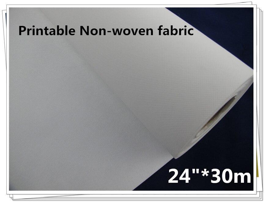 "Sunny 150g 24""*30m Inkjet Non Woven Fabric"