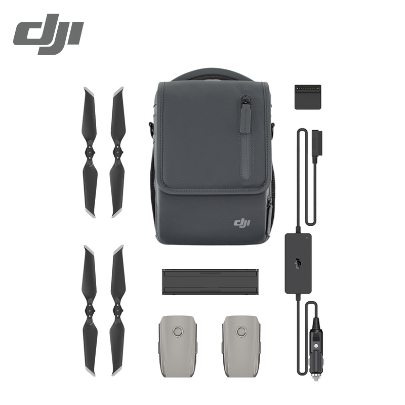 DJI Mavic 2 Fly More Kit include 2 batteries Car Charger Charging Hub Power Bank Adapter