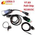 2017 V7.83 com Firmware 921815C lexia Diagbox chip full Lexia3 V48 PP2000/Lexia 3 Diagbox V25 7.83 Para Citroen para Peugeot