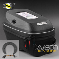 Motorcycle Black Tank Bags Fit For Suzuki DL 650 V Strom 04 11 Oil Fuel Tank
