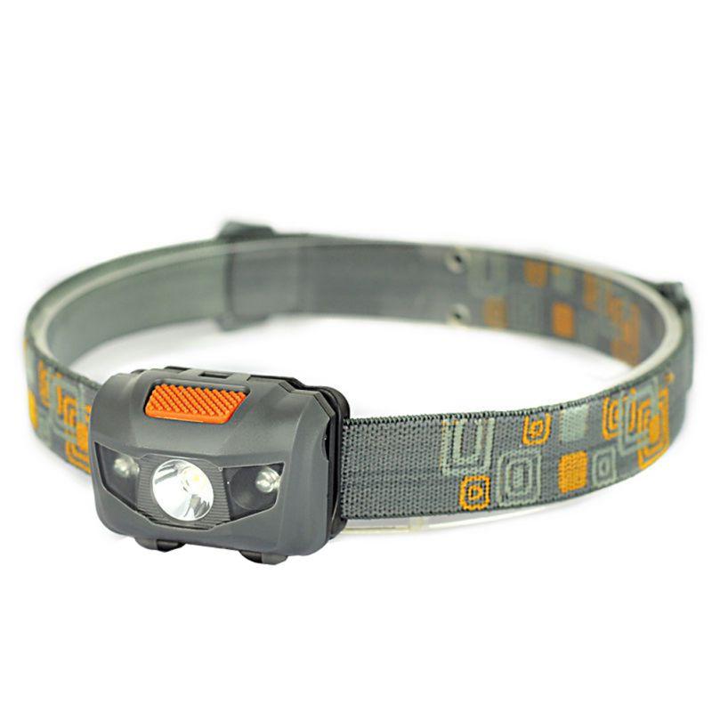 Camping Hiking Headlight 1000 Lumens LED Waterproof Headlamp Power By 3*AAA Battery