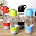 Nuevo Diseño Mini Botella de Agua Tazas de Brújula Altavoz Inalámbrico Bluetooth Altavoz Portátil de Sonido Al Aire Libre Reproductor de Música Estéreo