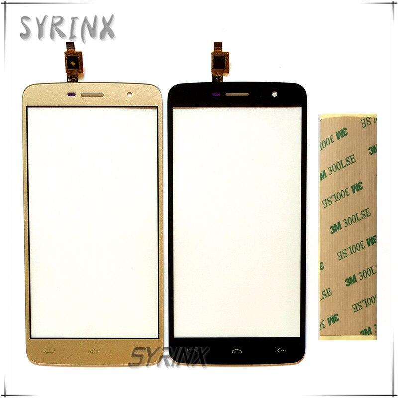 Syrinx Con 3 M Nastro Touchscreen Per Homtom HT17 HT 17 PRO Pannello Touch Screen Digilizer Per Homtom HT17 pro Touch Screen Sensore