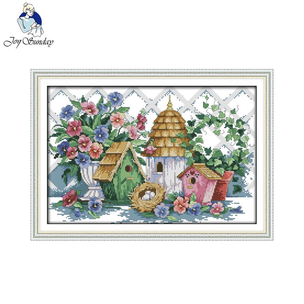⑥Alegría Domingo estilo escénico verano casa ornamento pared ...