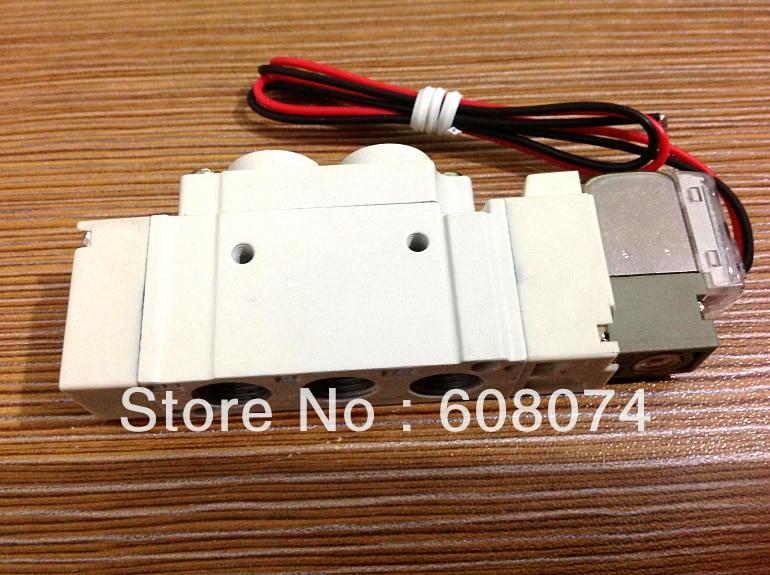 SMC TYPE Pneumatic Solenoid Valve  SY3220-5LZE-C4 5 way pilot solenoid valve sy3220 3d 01