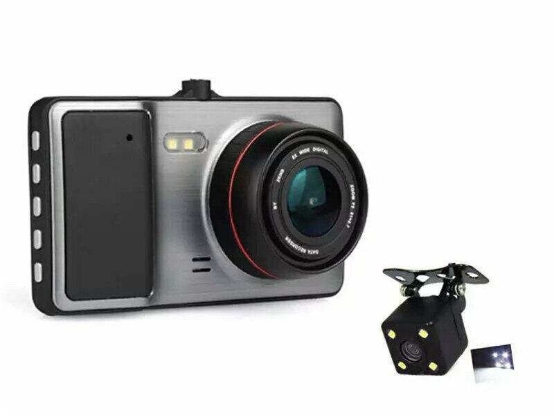 Original 4 IPS Screen Car DVR Camera Dual Lens Video Recorder Full HD 1080P Dash Cam Vehicle Super Night Vision