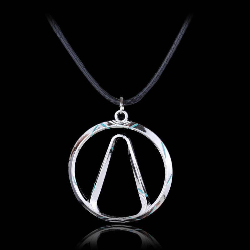 Game Borderlands NECKLACE Vault Symbol Choker Silver Pendants Necklace Women Girl Fashion Jewelry Accessories image