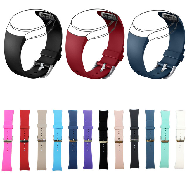 DAHASE 12 Colors Replacement Wrist Strap for Samsung Galaxy Gear S2 SM-R720 Sili