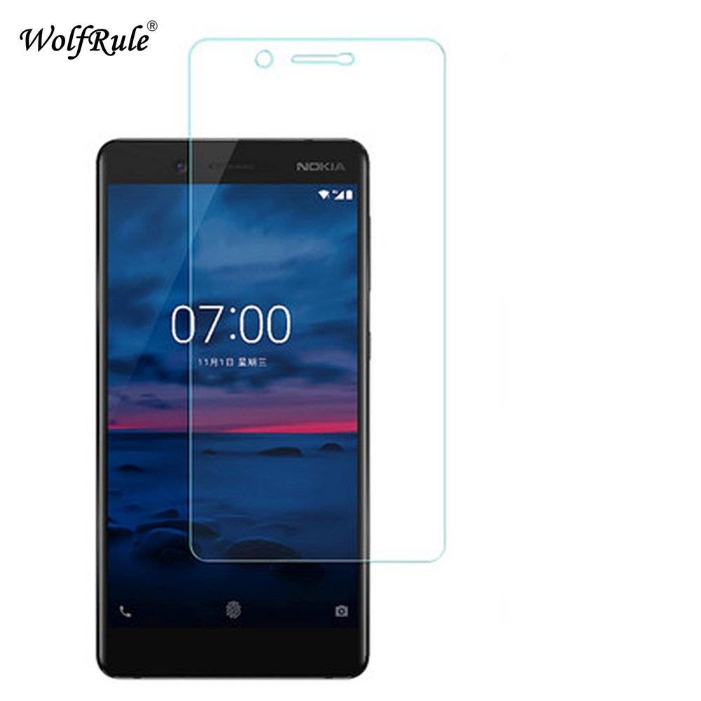 2PCS Glass For Nokia 7 Screen Protector Tempered Glass For Nokia 7 Glass Anti-scratch Phone Film For Nokia7 WolfRule