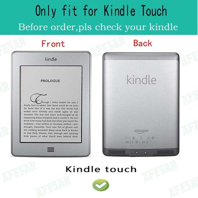 Leder Abdeckung Fr Kindle Touch 2012 Alte Modell D01200 Buch Flip Folio Fall Magnet 2011 Ebook Reader