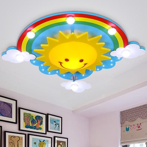 modern ceiling light kids bedroom bulb light fittings led