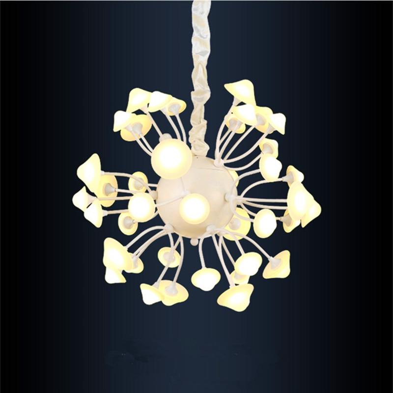Creative Sky Garden Mushroom chandeliers lamp Fashion diameter 40cm/50cm led Pendant lamp Home Decoration LED light fixture