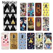 MaiYaCa Gravity Falls pig Black Soft Shell Phone Cover for Samsung Galaxy S9 plus S7 edge S6 edge plus S5 S8 plus case(China)