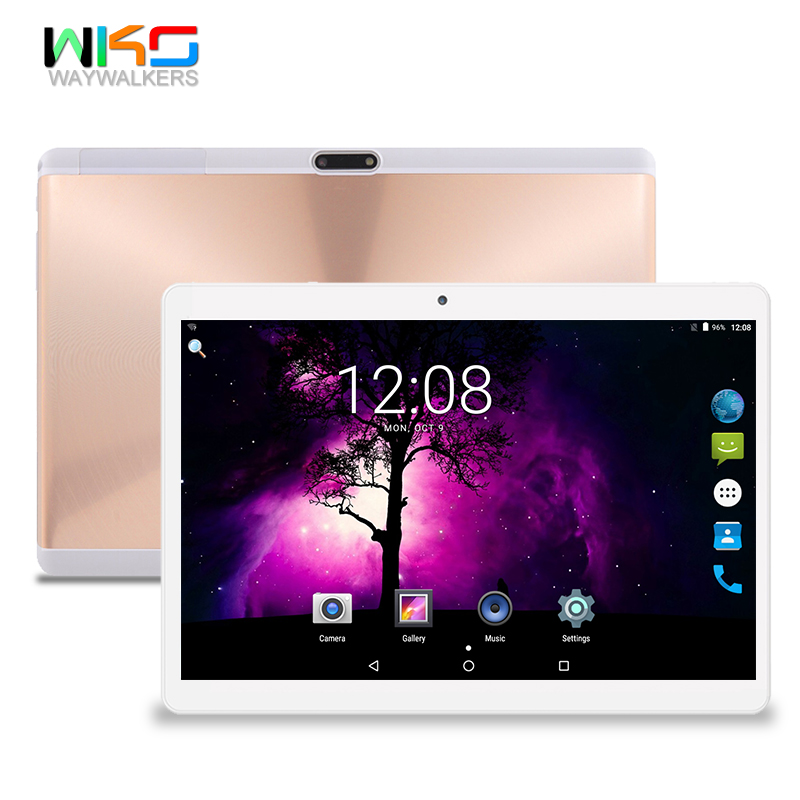 2.5D Tempered glass tablette 10.1 inch Tablet PC 4G Octa core Android 7.0 tablets 1280*800IPS 4GB RAM 32GB ROM Dual SIM WIFI lnmbbs car tablet android 5 1 octa core 3g phone call 10 1 inch tablette 1280 800ips wifi 5 0 mp function 1 16gb multi play card