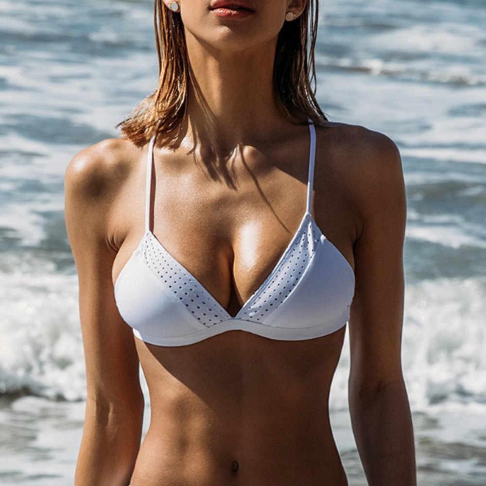 ผู้หญิงชายหาด bra sex appeal condole เข็มขัดว่ายน้ำชายหาด